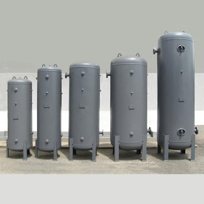 Standard Vertical Air Receiver Tanks