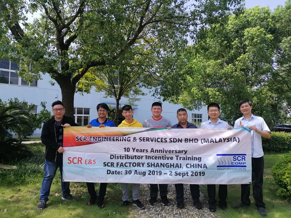 10 Years Established Incentive Training in Shanghai Factory